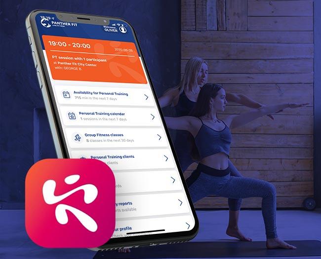 Aplicație de mobil pentru antrenori