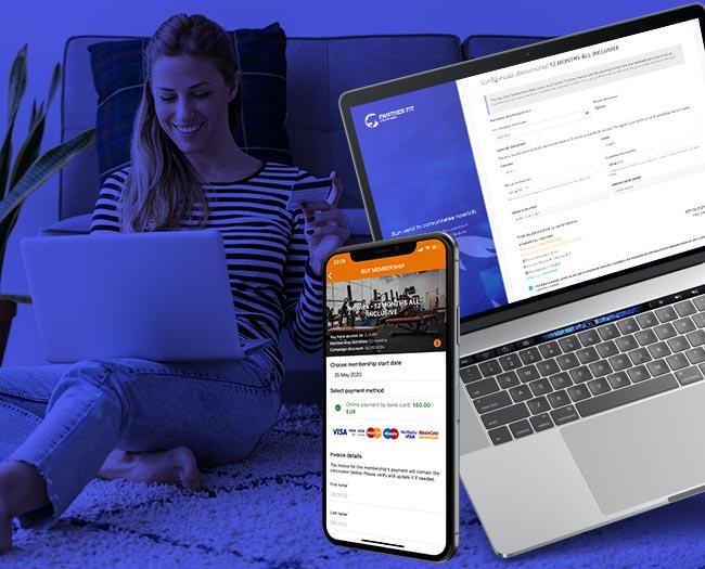 Vânzări online de abonamente și servicii
