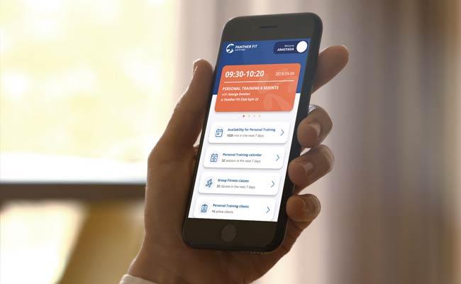 Aplicație de mobil special pentru antrenori