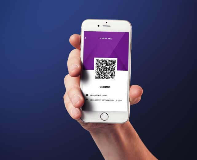 Elimini cozile la recepție folosind cardul digital din aplicație