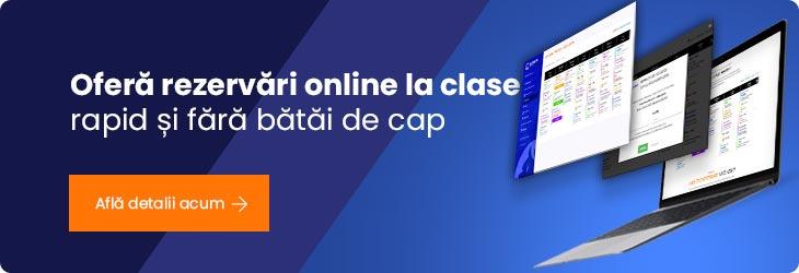Rezervări online clase