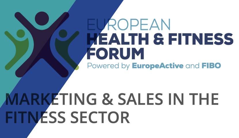 European Health & Fitness Forum 2020 – principalele aspecte discutate