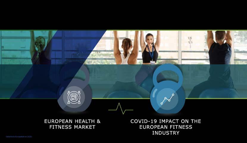 Studiu Deloitte și EuropeActive: impactul crizei COVID-19 asupra industriei fitness din Europa