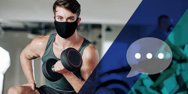 Cum actualizezi site-ul clubului de fitness cu măsurile COVID-19