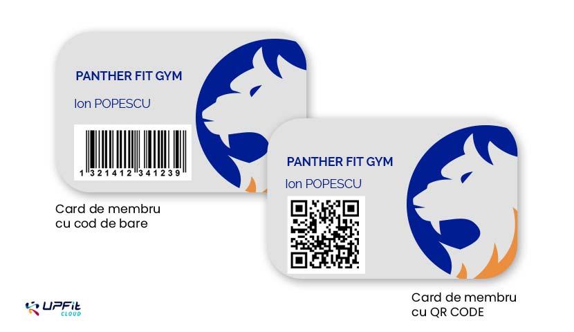 Carduri de membru sala fitness