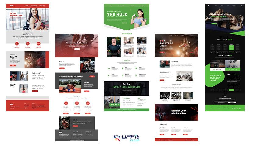 modele newsletter fitness